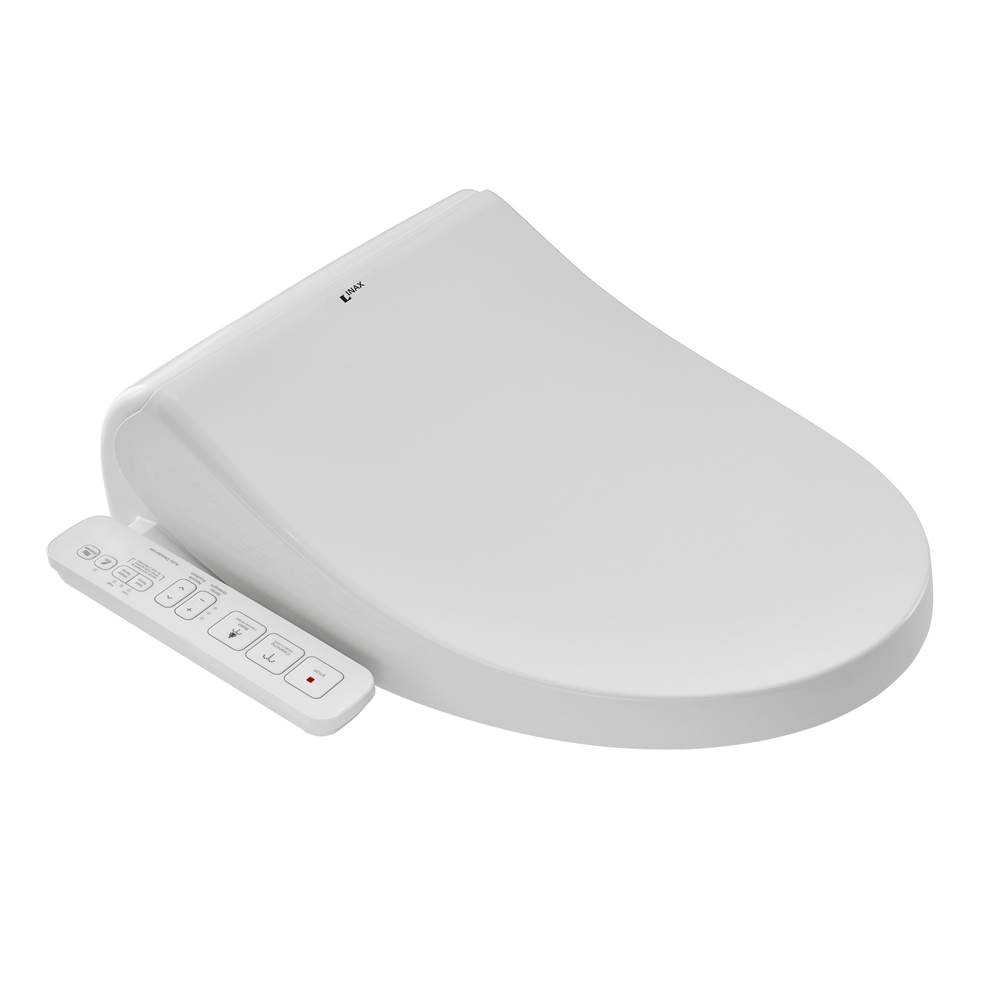 American Standard Inax Bidet Seat W/Sidepanel Canvas White