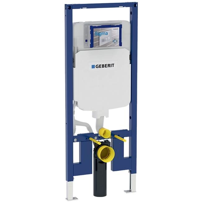 Geberit Geberit Duofix element for wall-hung WC, 120 cm, with Sigma concealed cistern 8 cm, for wood frame wall