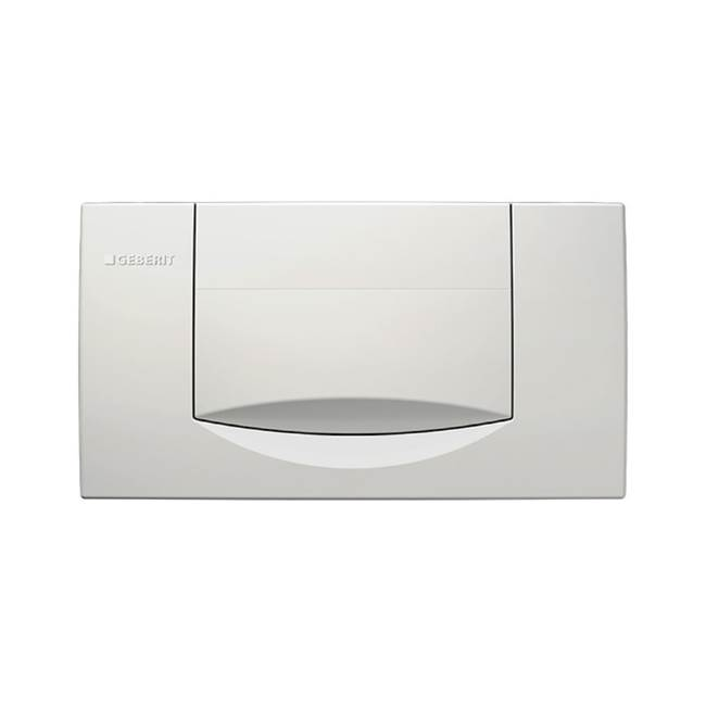 Geberit Geberit actuator plate 200F for stop-and-go flush: white alpine