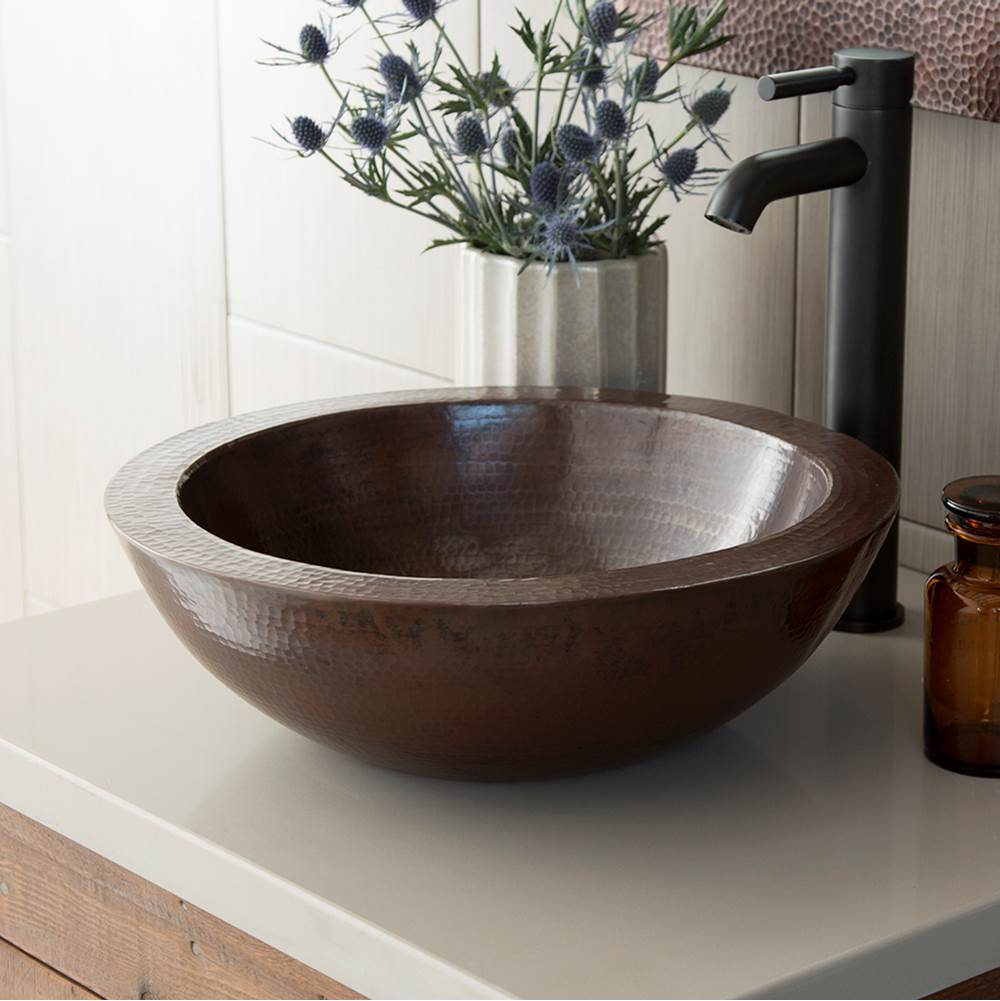 Native Trails Laguna Bathroom Sink in Antique Copper