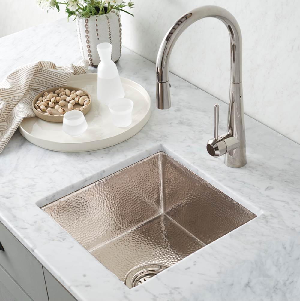 Native Trails Cantina Bar and Prep Sink in Polished Nickel
