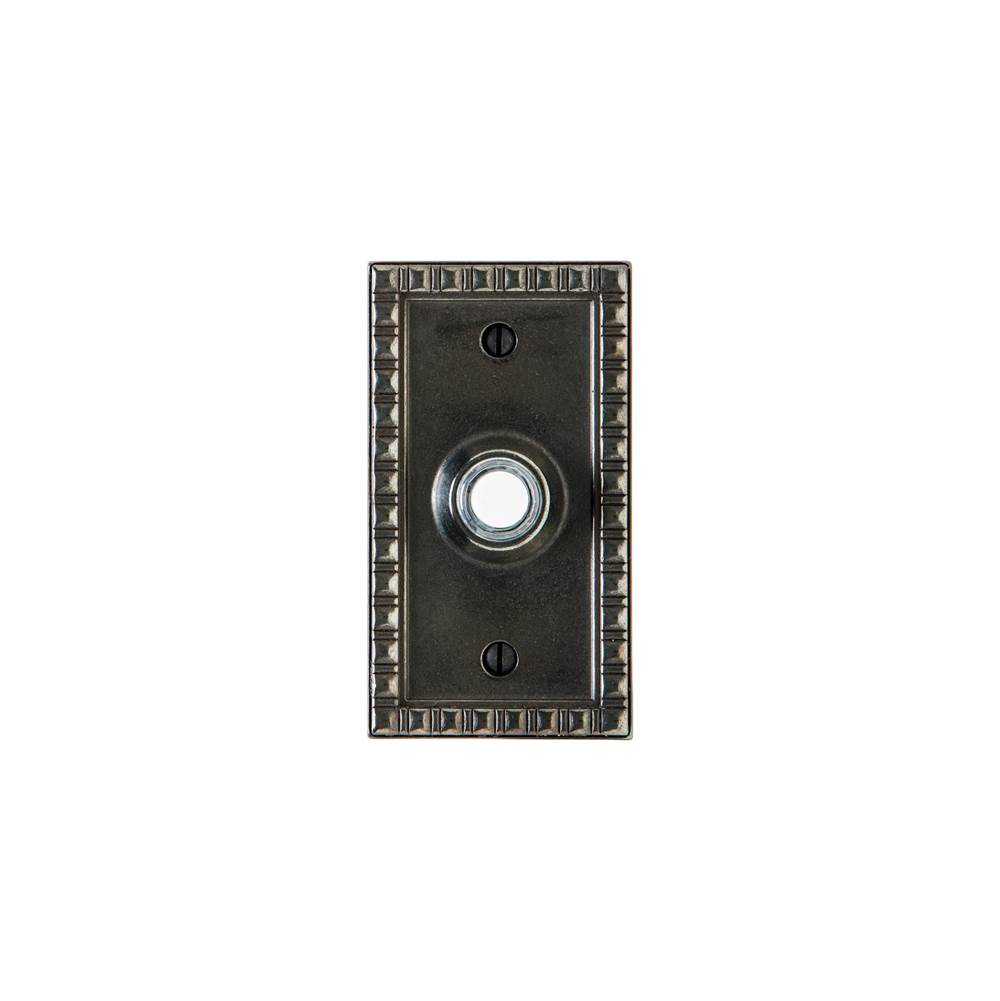 Rocky Mountain Hardware Corbel Rectangular Escutcheon Door Bell Button