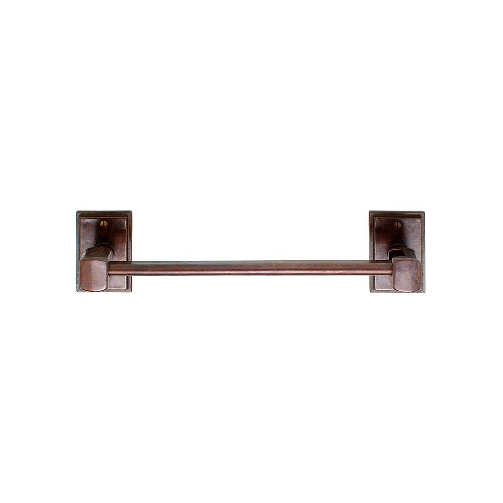 Rocky Mountain Hardware Rectangular Escutcheon Paper Towel Holder, horizontal, Tempo