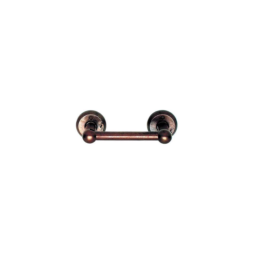 Rocky Mountain Hardware Arched Escutcheon Toilet Paper Holder, horizontal